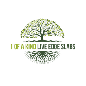 1 of a kind live edge slabs